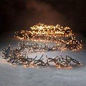 Luca Lighting kerstverlichting lichtsnoer - buiten - 768 lampjes warm wit - flashfunctie - 560 cm