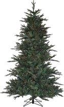 Black Box kunstkerstboom macallan pine maat in cm: 230 x 140 blauw