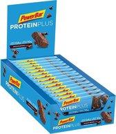 PowerBar ProteinPlus Low Sugar Chocolade Brownie - Eiwitrepen - 30x35 g