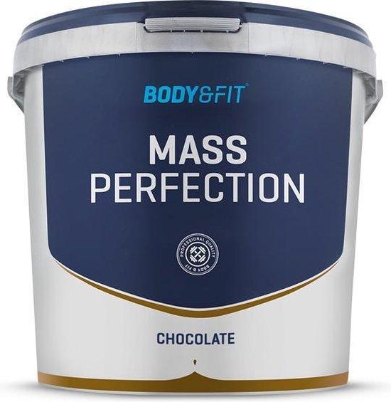 Body & Fit Mass Perfection - Weight gainer - 4400 gram - Chocolade Milkshake