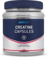 Body & Fit Creatine Monohydraat Capsules - Makkelijk in te nemen - 240 capsules