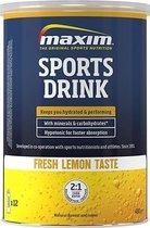 Maxim Hypotonic Sports Drink - Fresh Lemon - 480 gram