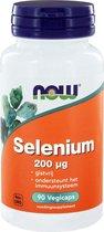 NOW Selenium 200 mcg - 90 Vegacapsules