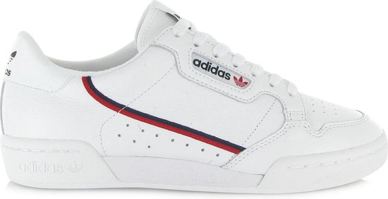 adidas Continental 80 G27706, Mannen, Wit, Sneakers maat: 46 2/3 EU
