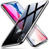 ESR iPhone 8 Plus hoes met transparante glazen achterkant