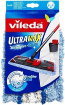 Vileda Ultra Max Micro & Coton vervangingskop voor Vileda UltraMax Microfibre Sensitive Mopset