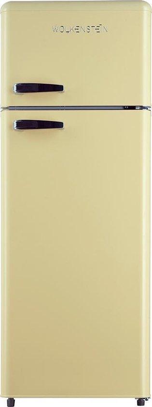 Koelkast: Wolkenstein GK212.4RT SC - Compacte Koel-vriescombinatie - Crème, van het merk Wolkenstein