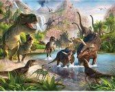 Walltastic Dinosaur Land 41745