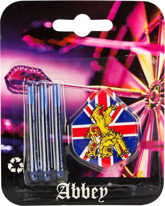 Thumbnail van een extra afbeelding van het spel Abbey Darts Flights & Shafts - Universeel