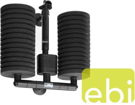 Ebi Sponsfilter Bob Maxi - Zwart - 170L/H