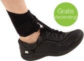 Orliman Boxia Klapvoet Foot-up Orthese - Maat: 1 (17-21 cm) - Kleur: Zwart