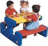 Buitenspeelgoed | Picknicktafels - Lt Gr.Picknicktafel Primary - Blauw