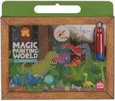 Tiger Tribe magic painting world - dinosaurs