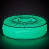 PLA filament 1kg HotOrange3D - Product Kies je kleur: Glow-in-the-dark-Groen