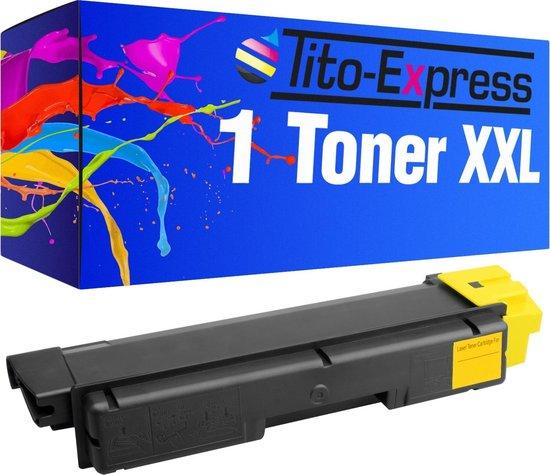 PlatinumSerie® toner XXL yellow alternatief voor Kyocera Mita TK-590 7.000 pagina 's S