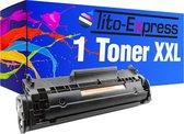 TIto-Express PlatinumSerie 1x HP Laserjet Q2612A 12A XL alternatief voor HP Laserjet Q2612A 12A