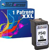 Tito-Express PlatinumSerie 1x Canon PG-540 XL Zwart inktcartridge alternatief voor Canon PG-540 XL black