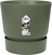 Elho Greenville Rond 40 - Bloempot - Blad Groen - Buiten  - Ø 39 x H 36.8 cm