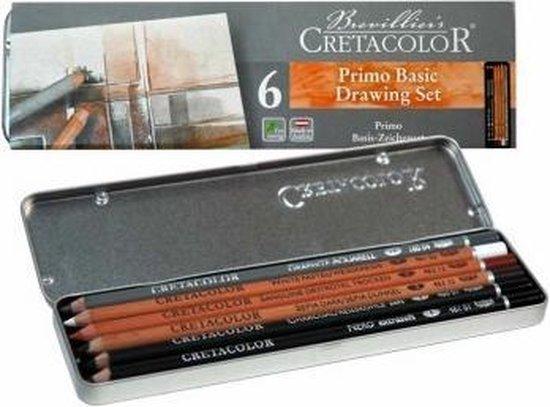 Cretacolor tekenset basis