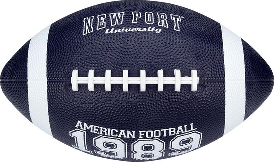 New Port American Football - Large - Marine/Wit