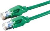 Draka UC400 premium HP-U/FTP CAT6 Gigabit netwerkkabel / groen - 0,50 meter