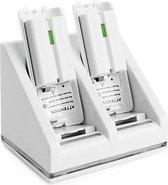 Duo Oplaadstation voor Wii / Wii U Controller - Kleur: Wit
