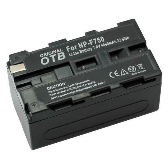 OTB Camera accu compatibel met Sony NP-730, NP-F730 en NP-F750 - 4400 mAh