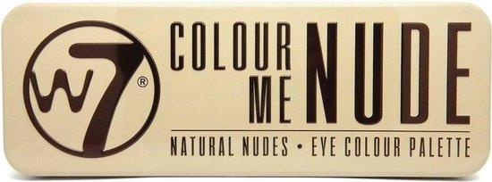 W7 In The Nude Natural Nudes Oogschaduw Palette - Lichtroze - 12 Kleuren