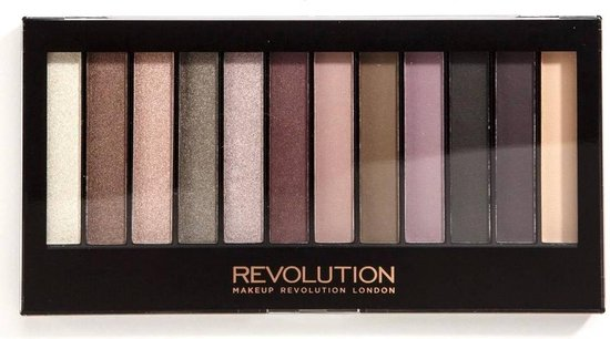 Makeup Revolution Redemption Palette - Romantic Smoked - Makeup Revolution