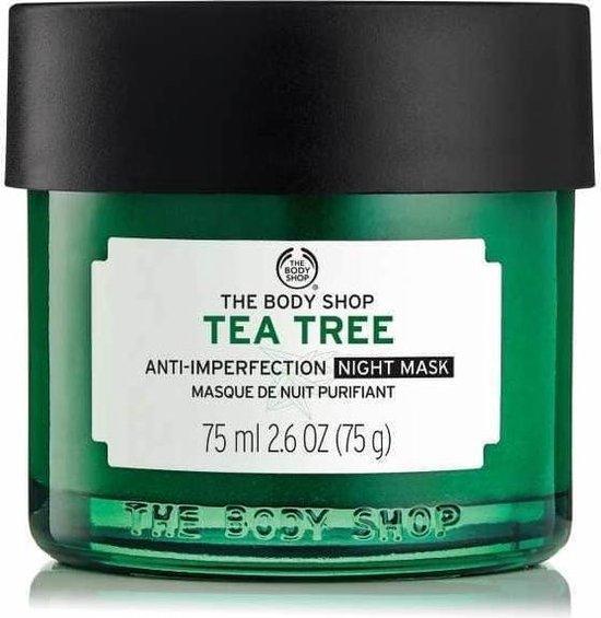 The Body Shop Tea Tree gezichtsmasker 75 ml 75 g