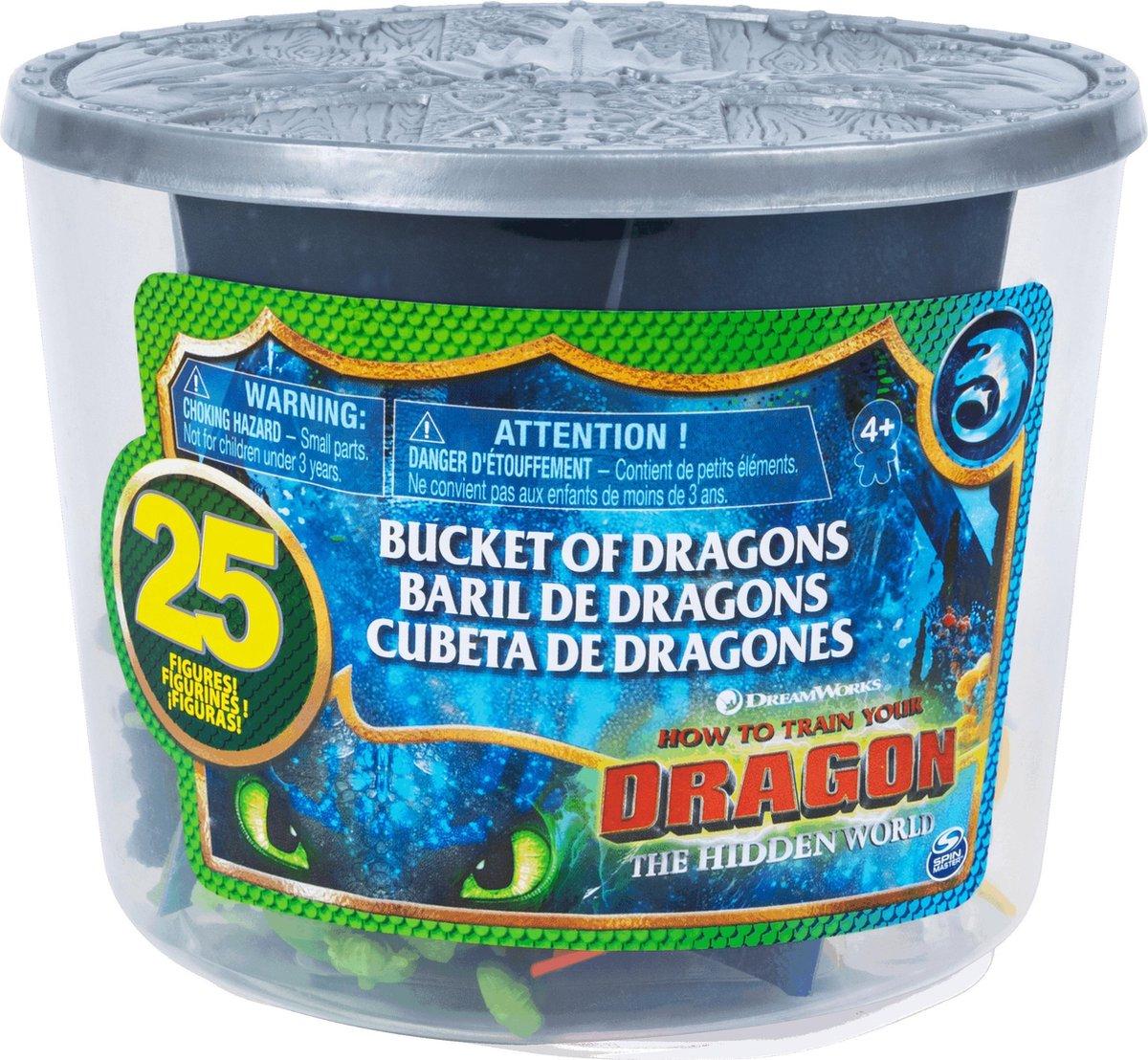 DreamWorks Dragons Bucket of Dragons
