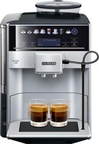 Siemens EQ6 Plus TE653311RW - Espressomachine - Zilver