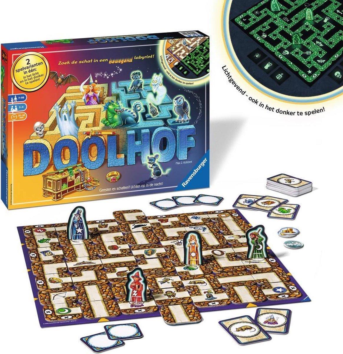 Ravensburger Betoverde Doolhof Glow In The Dark Bordspel Games Bol Com