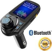 FM Transmitter carkit met Bluetooth T11D / Draadloze Carkit / MP3 speler mobiel / handsfree bellen in de auto / AUX input / lader / USB Flash drive / muziek / audio / bluetooth / SD kaart / carkit adapter