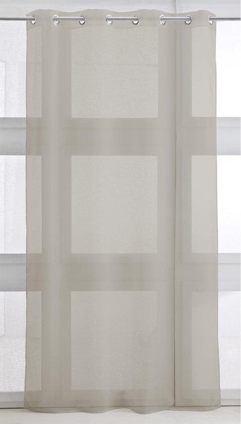 Kant en Klaar Vitrage Beige - 240 x 135cm