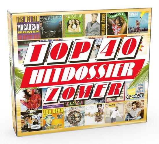 CD cover van Top 40 Hitdossier - Zomer van Top 40