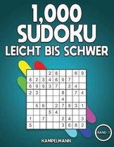 1,000 Sudoku Leicht bis Schwer