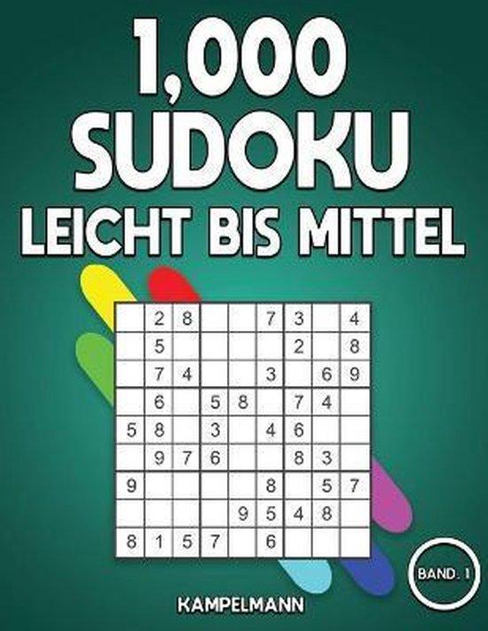 1,000 Sudoku Leicht bis Mittel
