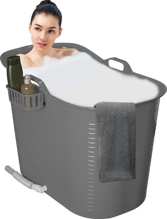 EKEO Zitbad - 200L - voor volwassenen - grijs
