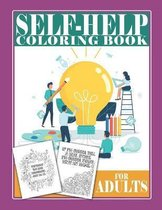 Self-Help Coloring Book For Adults