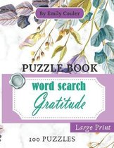 Gratitude Word Search Puzzle Book (Large Print)