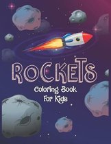 Rockets Coloring Book For Kids