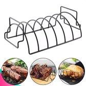 Dayshake Spareribs Rek - Rib rek voor Barbecue - BBQ Sparerib Rack - BBQ accesoires
