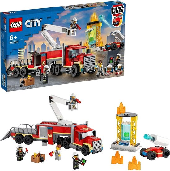 LEGO 60282 City Brandweerbureau Bouwset, Brandweerspeelgoed