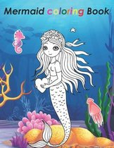 Mermaid Coloring Book: 30+ amazing Mermaid coloring pages - Beautiful Large Print Mermaid Coloring Book Pages For teens girls and adults