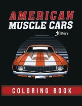 American Muscle Cars History - Coloring Book