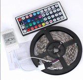 LED-strip - 5 meter - incl. afstandsbediening - Mu