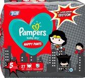 Pampers Pants Baby Dry -  Luierbroekjes - Maat 5 - Junior - 12-17kg - Limited Edition, 27 St