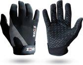 ZEUZ® Sport, Crossfit & Fitness Handschoenen Heren & Dames – Krachttraining – Wit & Zwart – De perfecte gloves voor meer grip en bescherming tegen blaren & eelt - Maat XL
