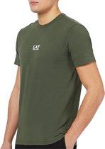 EA7 EA7 Train Logo T-shirt - Mannen - donkergroen